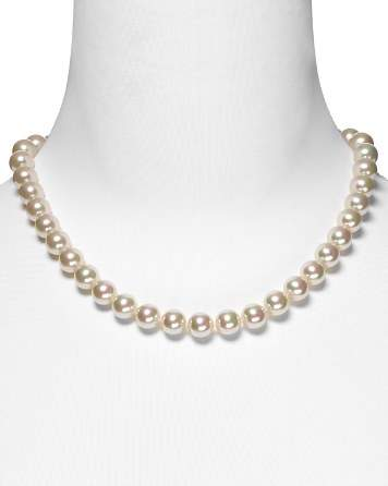 Majorica 10mm Simulated Pearl Necklace 18""