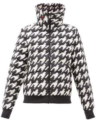 Perfect Moment Queenie Houndstooth Down-filled Jacket - Womens - Multi