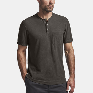 James Perse Cotton Linen Jersey Henley