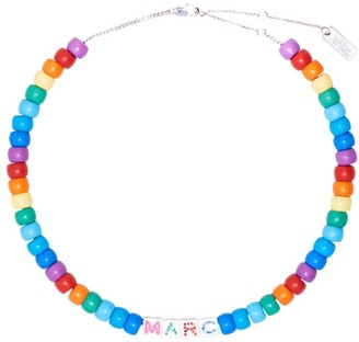 Marc Jacobs The Toy Blocks beaded necklace