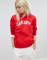 Carhartt WIP Oversized Boyfriend Hoodie With Text Logo