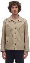 Bode Critter Cotton Canvas Work Shirt