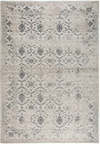 Panache Rizzy Home Transitional Medallion Floral Rug