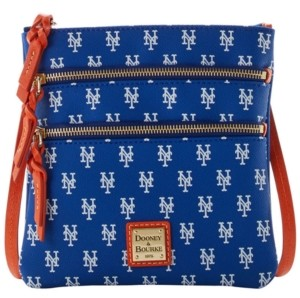 Dooney & Bourke New York Mets North South Triple Zip Purse