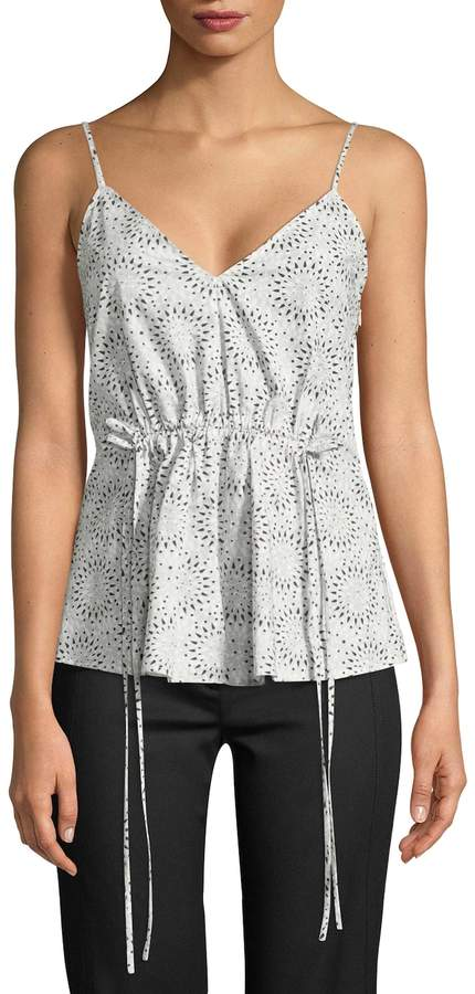 Derek Lam Women's Geo Cotton Camisole