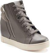 SO® Women's Hidden Wedge High-Top Sneakers