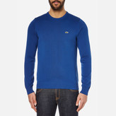 Lacoste Men's Crew Neck Jumper Steamer