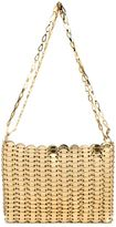 Paco Rabanne iconic chain shoulder bag - women - Leather/Metal (Other) - One Size