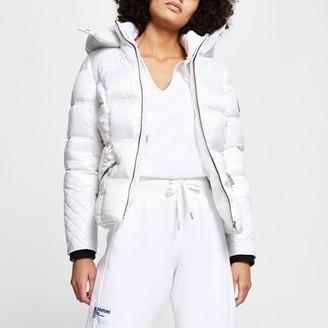 River Island Womens White padded jacket