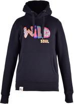Blonde Gone Rogue Wild Soul Organic Cotton Hoodie In Black