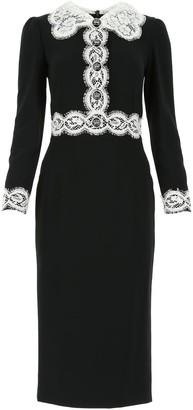 Dolce & Gabbana Cady Mini Dress
