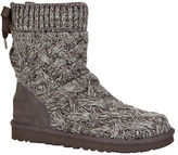 UGG Isla Cable Knit Sheepskin Boots