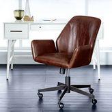 west elm Aluna Leather Office Chair
