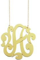 Jennifer Zeuner Large Swirly Personalized Necklace