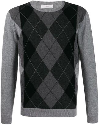 Pringle Argyle-Knit Sweater