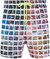 Paul Smith photographic print swim shorts