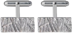 Edge Only Rugged Cufflinks in Silver