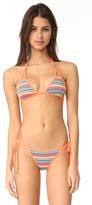Wildfox Couture Zooey Triangle Bikini Top