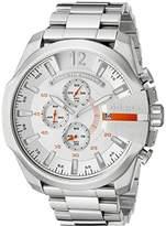 Diesel Men's DZ4328 Mega Chief -Tone Stainless Steel Watch