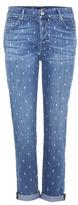 7 For All Mankind Josefina printed boyfriend jeans