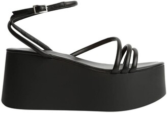 Tony Bianco Tory Black Sheep Nappa Wedges