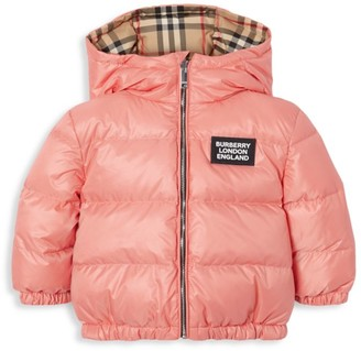 Burberry Baby's & Little Girl's Rayan Reversible Down Puffer Jacket