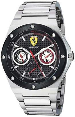 Ferrari Men's Aspire Quartz Stainless Steel and Bracelet Casual Watch