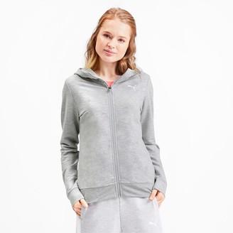 Puma Modern Sports Women's Full Zip Logo Hoodie