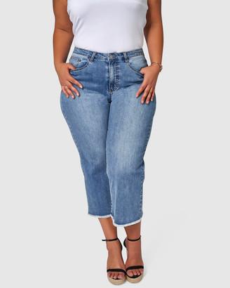 Something 4 Olivia Gemma Wide Leg Jeans