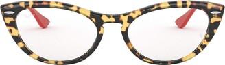 Ray-Ban Women's RX4314V Cat Eye Optical Non Polarized Prescription Eyewear Frames