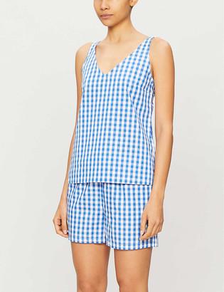 Derek Rose Barker cotton pyjama set