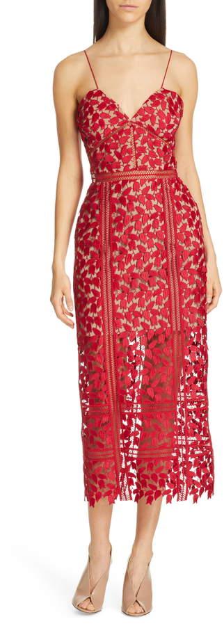 93c55d30f0f Self-Portrait Red Dresses - ShopStyle