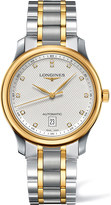 Longines L26285777 Master 18ct yellow gold and stainless steel watch