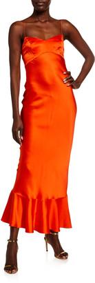 Saloni Mimi B Satin Dress