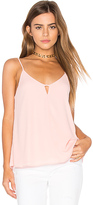 Eight Sixty Keyhole Tank in Blush. - size M (also in )