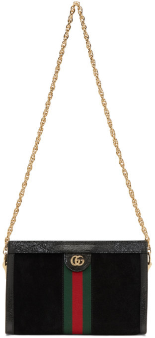 3bef6ac4f Gucci Shoulder Bag With Chain Strap - ShopStyle
