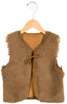 Bonpoint Girls' Shearling Vest