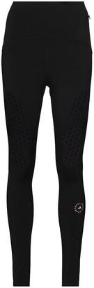 adidas by Stella McCartney Logo-Print Workout Leggings