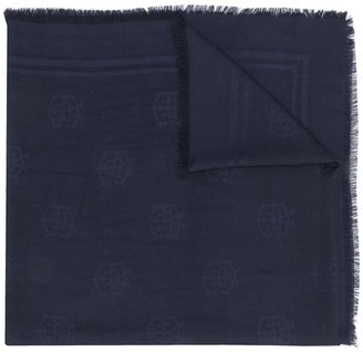 Eleventy Embroidered Scarf