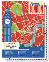 Cavallini & Co. Notebook Set Vintage London