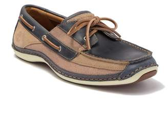 Timberland Annapolis Two-Tone Leather Boat Shoe