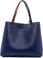 Street Level Red & Navy Reversible Tote
