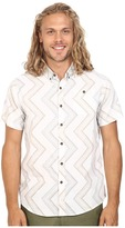 VISSLA Raised By Waves Reverse Printed Short Sleeve Woven