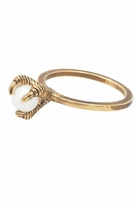 House Of Harlow Talon Stacking Ring in Pearl