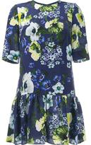 Erdem floral print silk dress - women - Silk - 12
