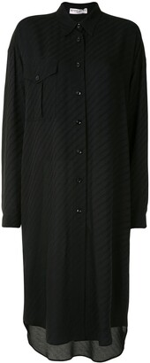 Givenchy oversized Chaine motif shirt dress
