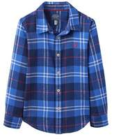 Joules Kids' Brushed Cotton Shirt.