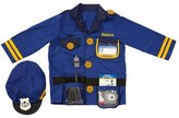 Melissa & Doug Toddler Personalized Police Officer Costume Set