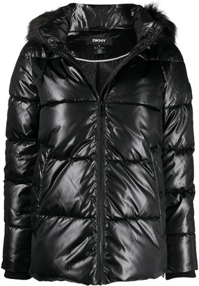 DKNY Hooded Padded Jacket