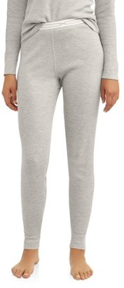 Hanes Women's X-Temp Thermal Waffle Pant with FreshIQ
